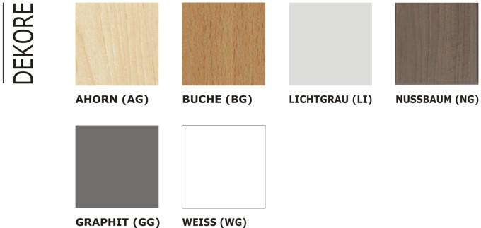 five arbeitsplatte ohne gestell 80cm tief b rom bel serien. Black Bedroom Furniture Sets. Home Design Ideas