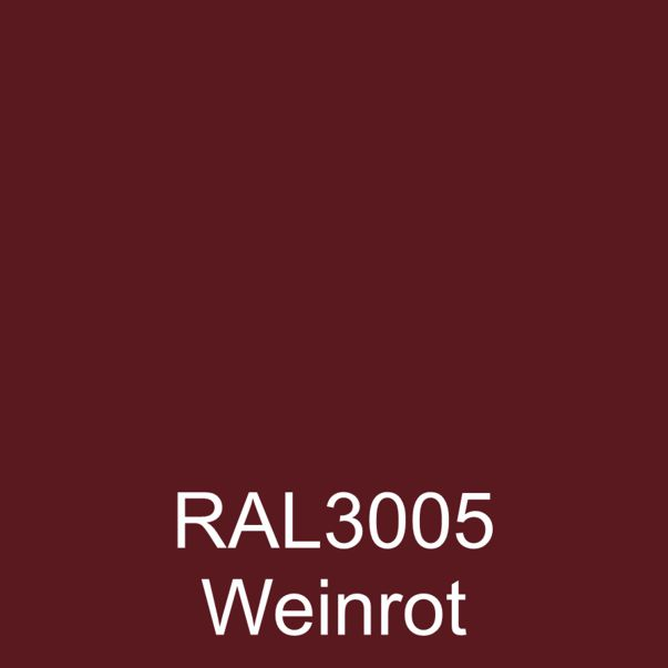 RAL3005 Weinrot