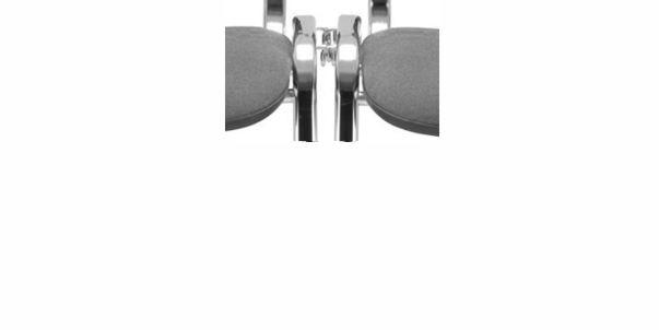 AS ISO PLASTIC Besucherstuhl mit 4 Fuß Gestell, Sitz und Rücken aus Kunststoff