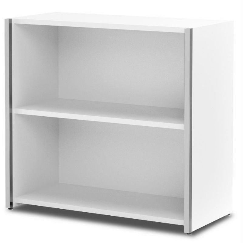 AVETO Büromöbel Set, Konferenztisch mit Schränken 550x550