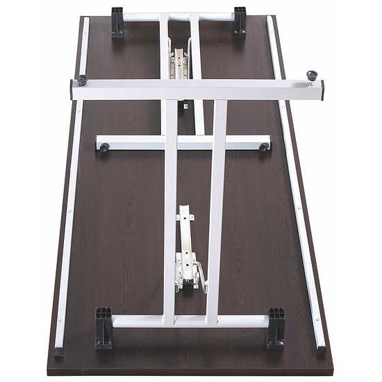 joker klapptisch t fu gestell 4 kant rohr. Black Bedroom Furniture Sets. Home Design Ideas