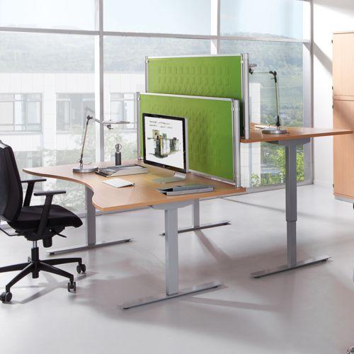Büromöbel-Serien GERAMÖBEL,Schreibtische