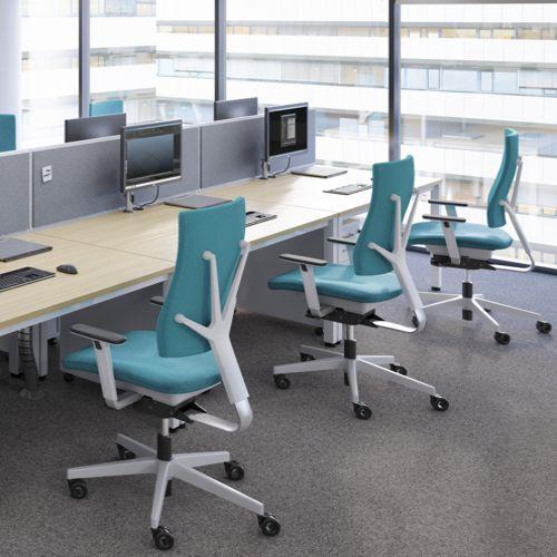 Stühle Für Den Arbeitsplatz, Vom Einfachen Drehstuhl Bis Zum Ergonomischen  Und Exklusiven Bürostuhl Für Den Professionellen Einsatz.