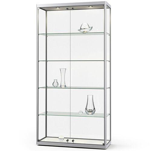 glasvitrinen. Black Bedroom Furniture Sets. Home Design Ideas