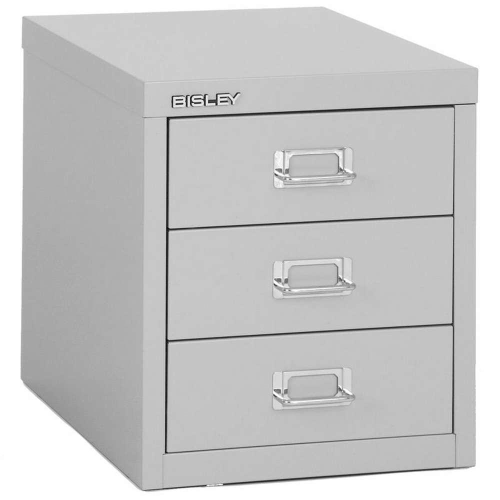 BISLEY MultiDrawer Schubladenschrank 12er Serie DIN A4, 3 Schubladen ...