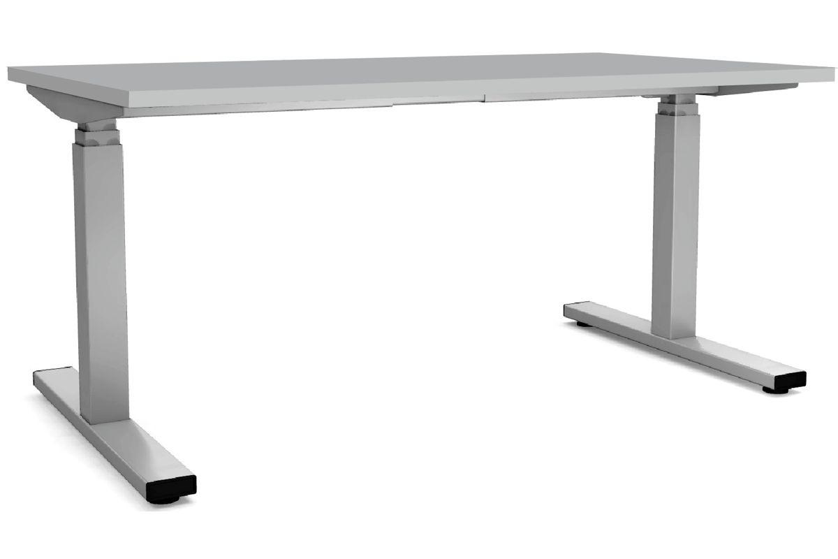 speed steh sitz schreibtisch rechteckig 80cm tief. Black Bedroom Furniture Sets. Home Design Ideas