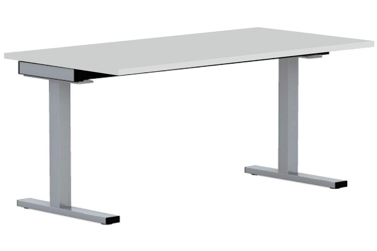 Speed schreibtisch mit c fu gestell rechteckig 80cm for Schreibtisch 130 x 80