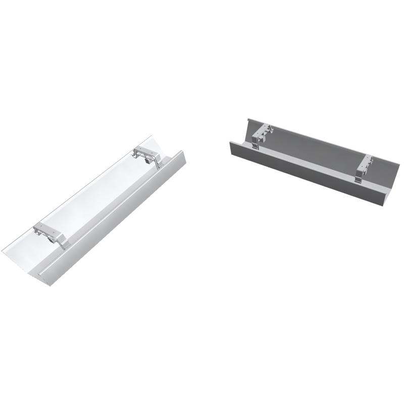 EXPERT Kabelkanal für Kompakttische, klappbar, horizontal (Büromöbel ...