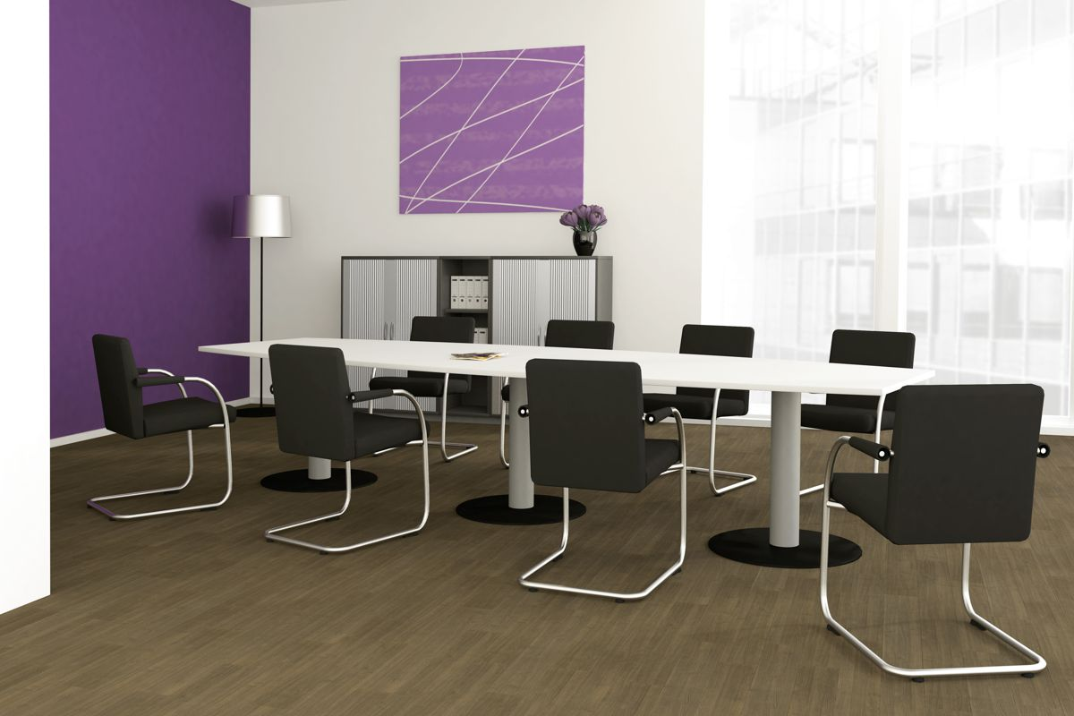 GERAMÖBEL Büromöbel Set, Konferenztisch 400cm (Konferenzmöbel)