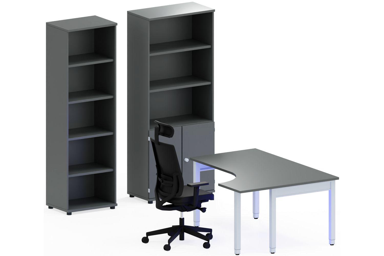 GERAMÖBEL Büromöbel Set, Konferenztisch 200cm (Konferenzmöbel)