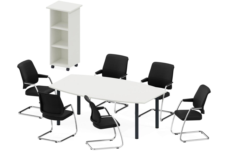 GERAMÖBEL Büromöbel Set, Konferenztisch 200cm, 350x350cm ...