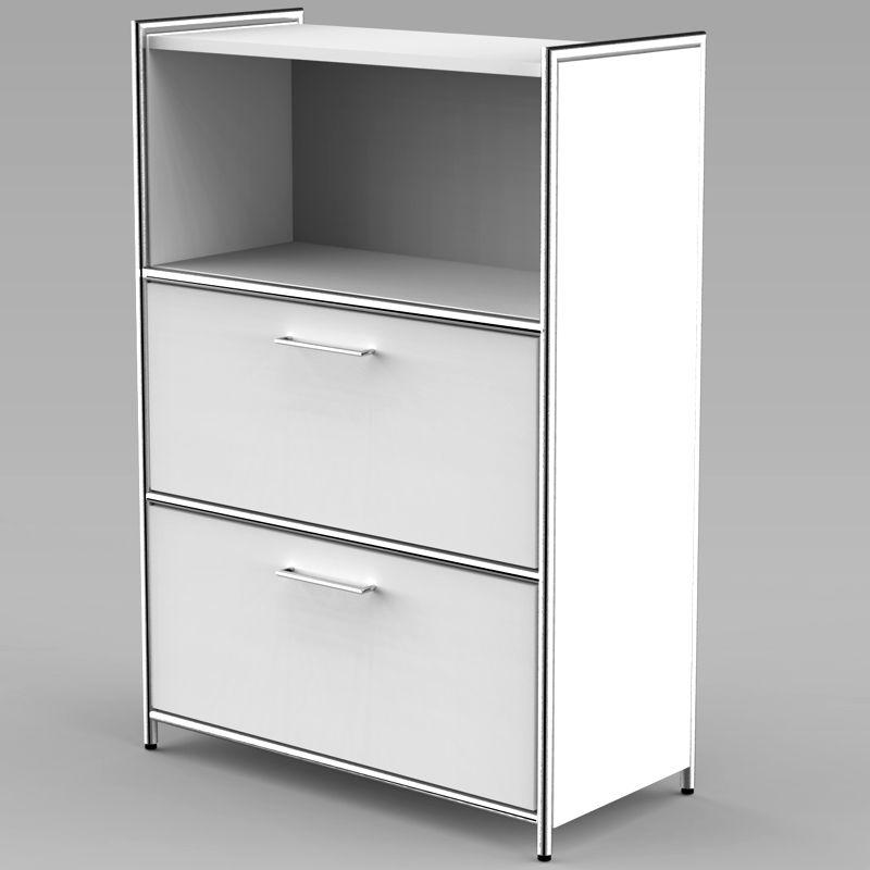 artline sideboard mit 2 schublade 3 oh oben 1 oh offen 80cm breit. Black Bedroom Furniture Sets. Home Design Ideas