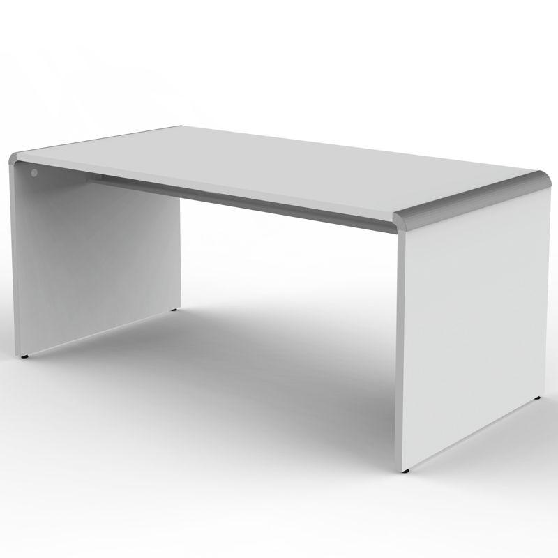 Modus schreibtisch 160x80cm mit kabelkanal 75cm hoch for Schreibtisch hoch