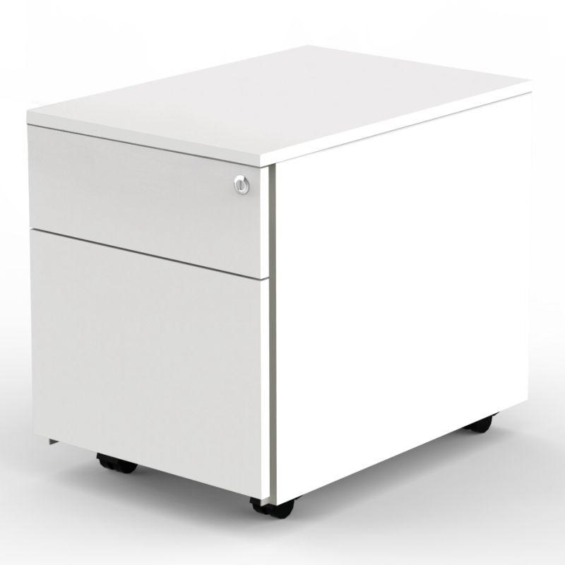 enter rollcontainer mit h ngeregister und stahlschublade. Black Bedroom Furniture Sets. Home Design Ideas