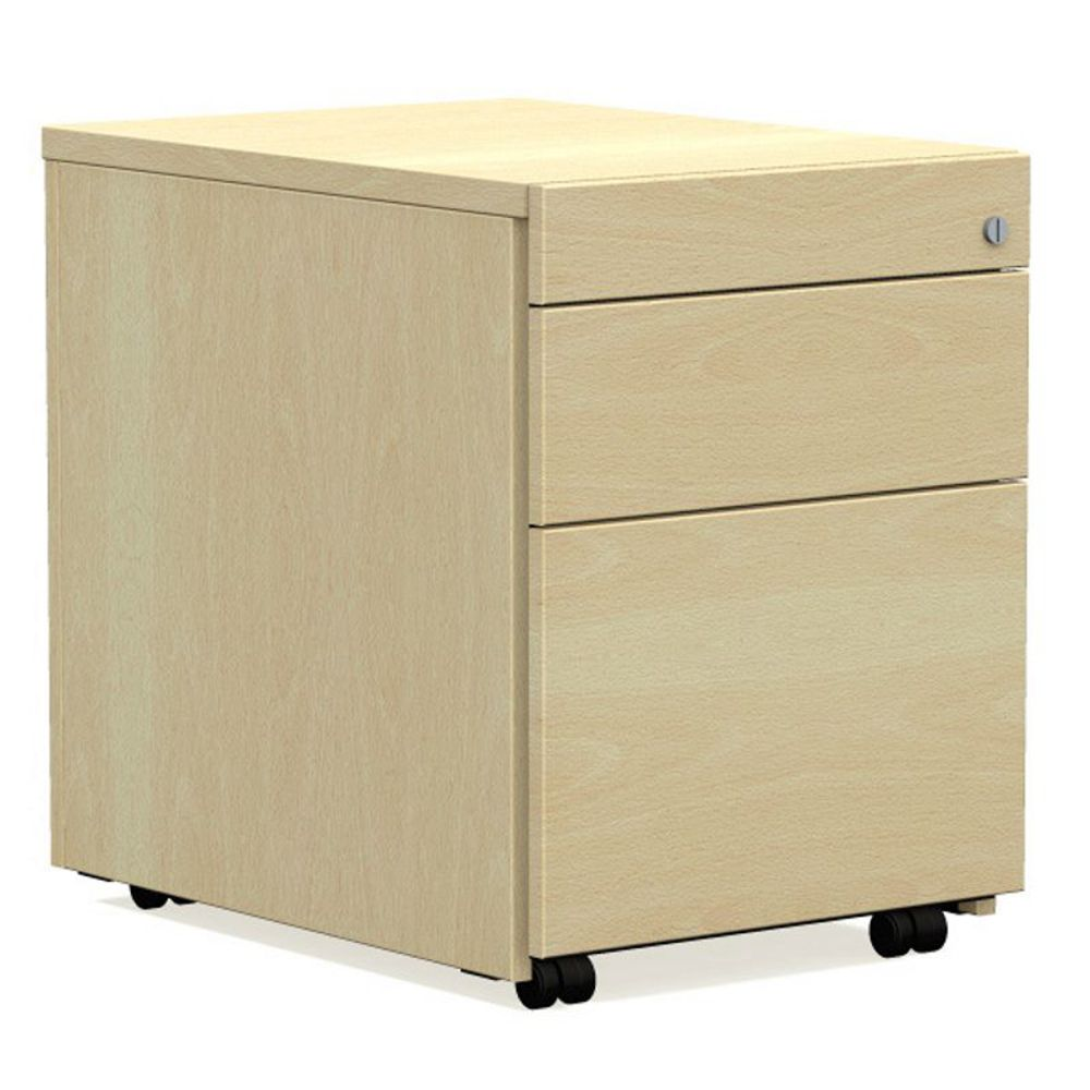 work h ngeregister rollcontainer mit stahlschubladen 60cm tief. Black Bedroom Furniture Sets. Home Design Ideas