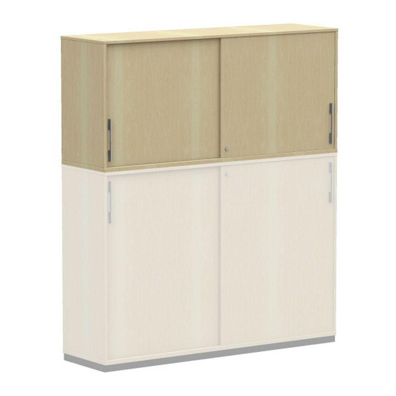 work 2 oh aufsatz schiebet renschrank aktenschrank 120cm. Black Bedroom Furniture Sets. Home Design Ideas