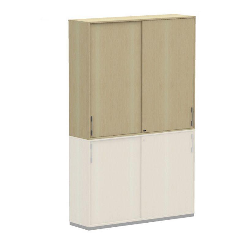 work 4 oh aufsatz schiebet renschrank aktenschrank 120cm. Black Bedroom Furniture Sets. Home Design Ideas