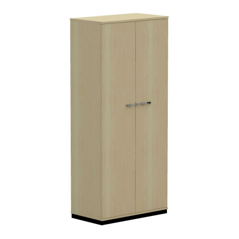 work 5 oh garderobenschrank mit fl gelt ren 80cm breit 44. Black Bedroom Furniture Sets. Home Design Ideas