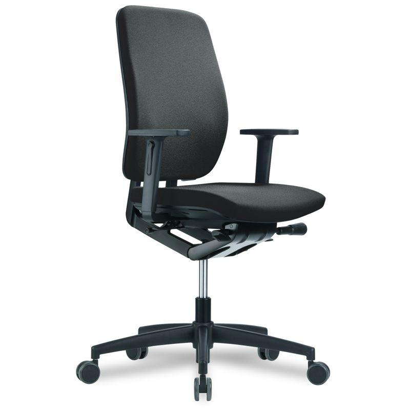 speed globeline comfort drehstuhl mit synchronmechanik und 2d armlehnen. Black Bedroom Furniture Sets. Home Design Ideas