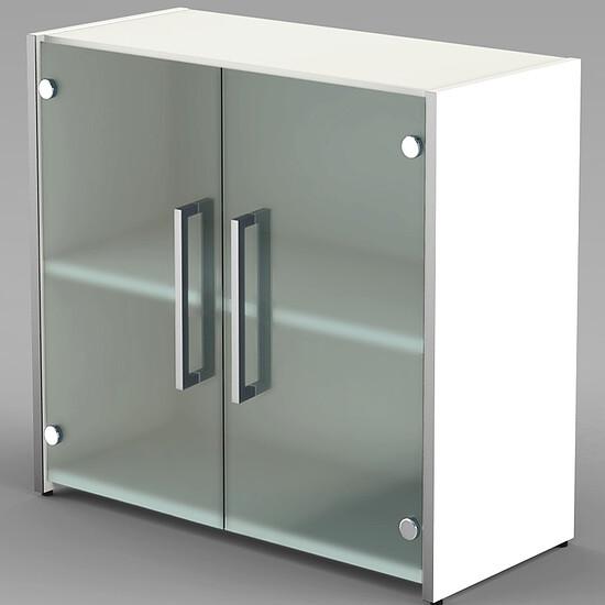 enter 2 oh sideboard mit glasfl gelt ren. Black Bedroom Furniture Sets. Home Design Ideas